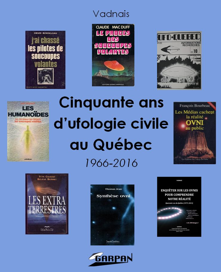 50 ans d'ufologie civile au Québec