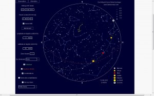Carte astro, 12 juin